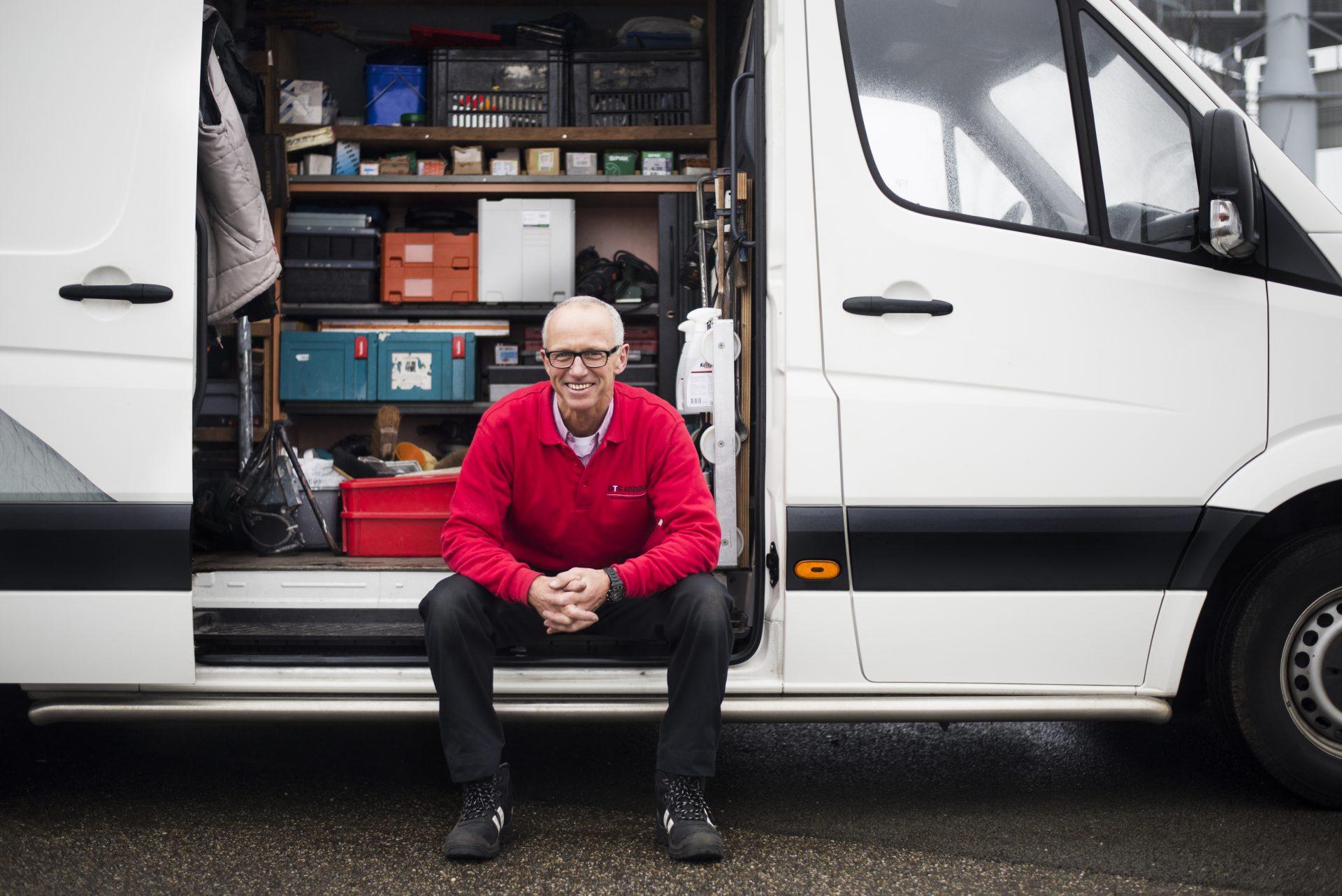medewerkers - handyman - UTS Verkroost Nijmegen