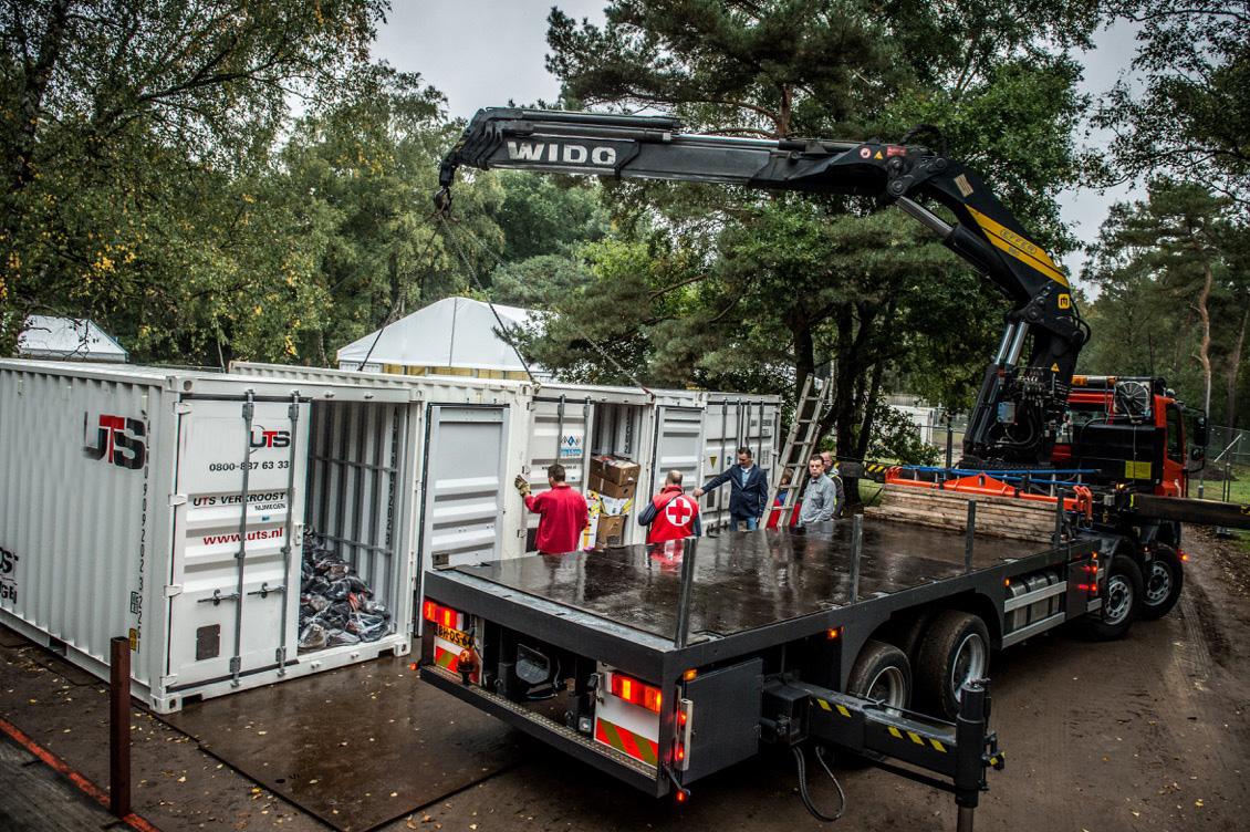 containers op locatie - UTS Verkroost Nijmegen