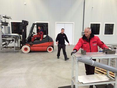 industriele verhuizing - UTS Verkroost Nijmegen