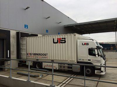 verhuis vrachtwagen - UTS Verkroost Nijmegen
