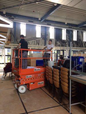 verhuizen hoogwerker - UTS Verkroost Nijmegen