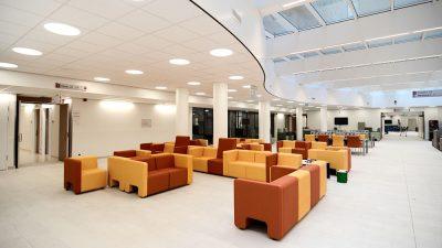 ziekenhuis hal - UTS Verkroost Nijmegen