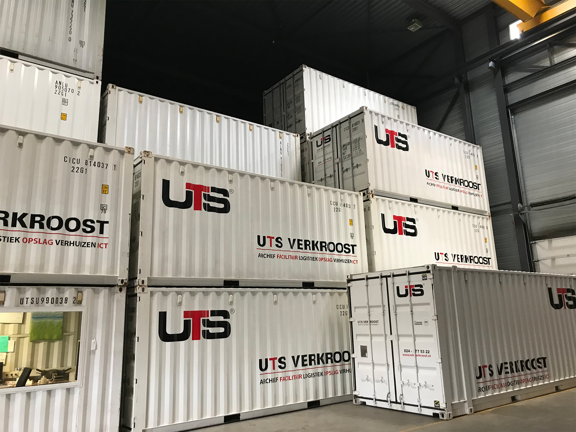 Container opslag